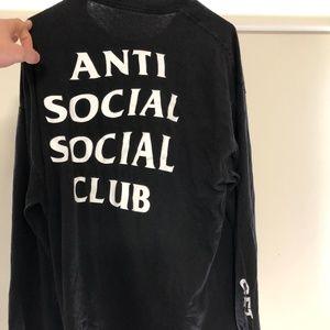 "Antisocial Social Club ""Get Weird"" long sleeve"